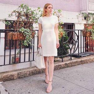 Club Monaco White Tee Dress